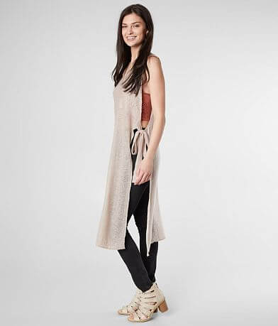 mystree Side Tie Maxi Tank Top