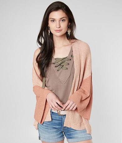 mystree Dolman Cardigan Sweater