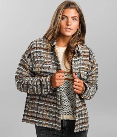mystree Plaid Tweed Jacket