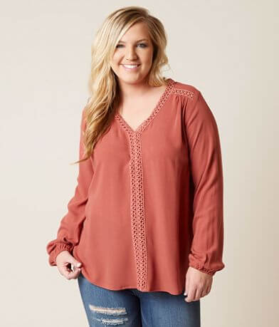 Daytrip Crochet Top - Plus Size Only