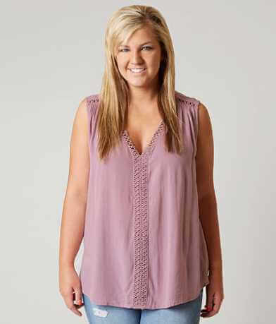 Daytrip Crochet Tank Top - Plus Size Only
