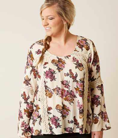 Daytrip Floral Top - Plus Size Only