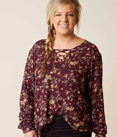Daytrip Crossover Top - Plus Size Only
