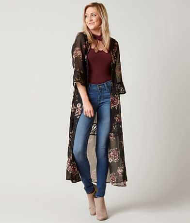 Daytrip Floral Duster Cardigan