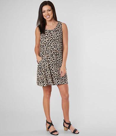 aca4c1bd969f Daytrip Cheetah Print Sleeveless Dress