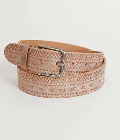 Indie Spirit Embossed Belt