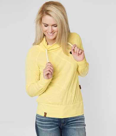 Naketano Mandy Cowl Neck Hooded Sweatshirt