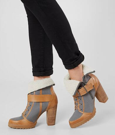 Naughty Monkey High Trail Leather Boot