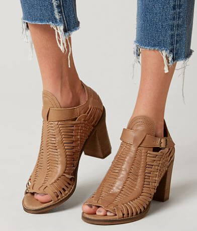 Naughty Monkey Killion Leather Heeled Sandal