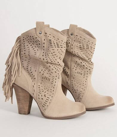 Naughty Monkey Love Lace Leather Ankle Boot