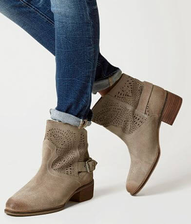 Naughty Monkey Zoey Leather Ankle Boot