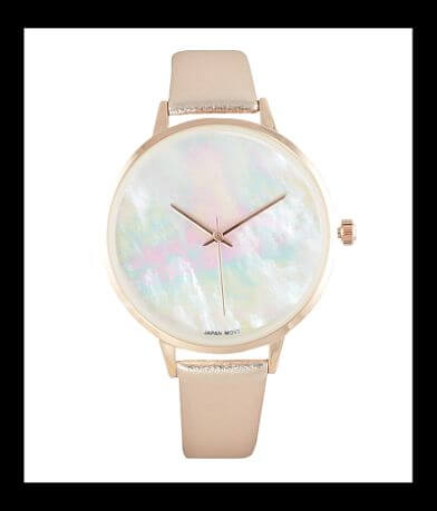 BKE Metallic Watch