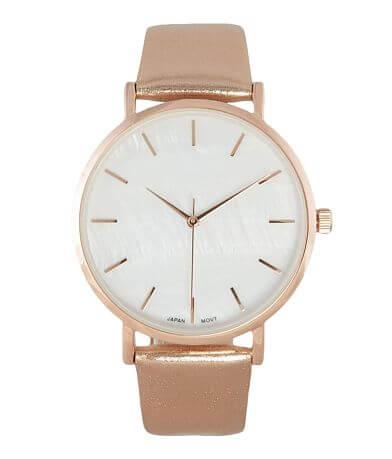 BKE Metallic Watch