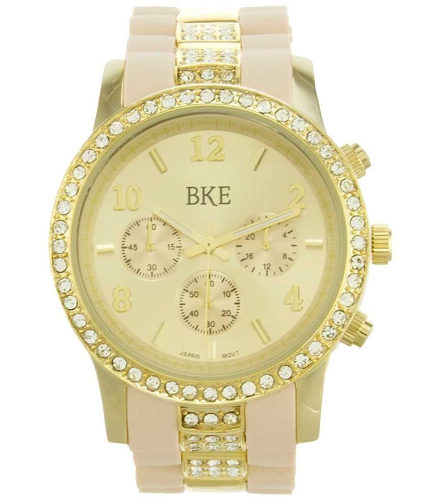 BKE Rhinestone Watch front view