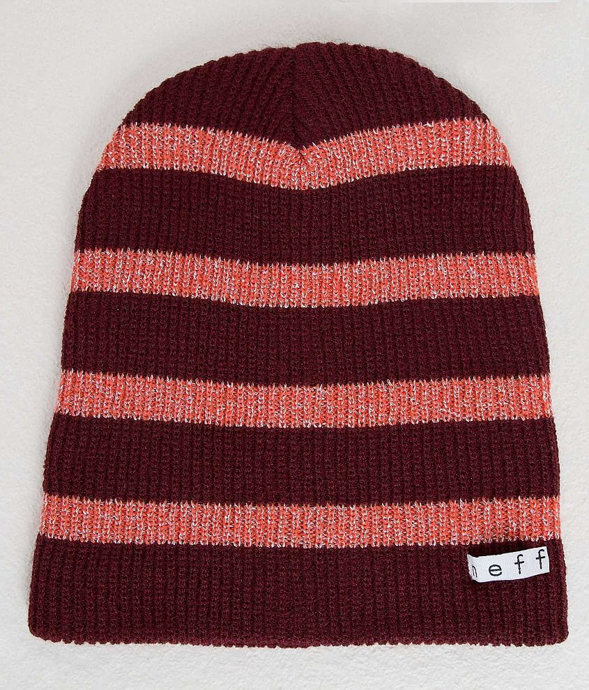 Neff Daily Beanie - Women s Hats in Maroon Coral  91c6ff1c5
