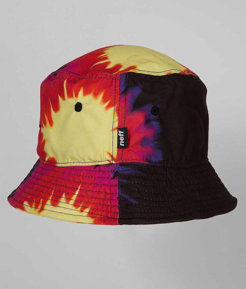 9ddddf175 Neff Tie Dye Bucket Hat - Men's Hats in Black | Buckle