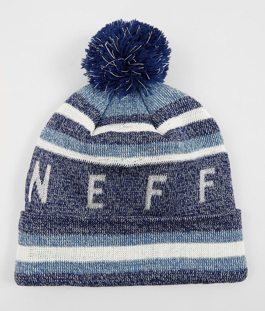 98246a612cd8e Neff Nightly Tailgate Beanie - Men s Hats in Navy Denim Glow
