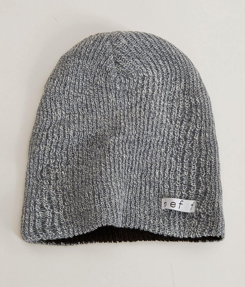35474bcc95dba Neff Daily Reversible Beanie - Men s Hats in Black Grey