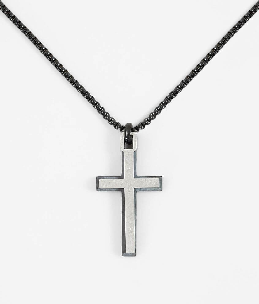 1913 Layered Double Cross Necklace