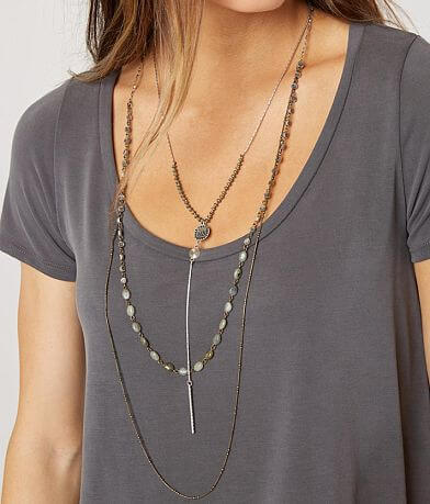 BKE Layered Y-Necklace Set