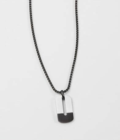 1913 Open Dog Tag Necklace