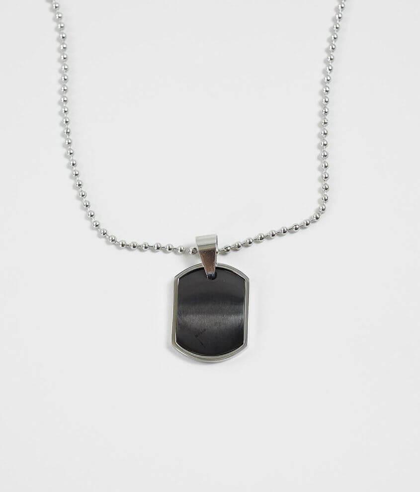 1913 Polished Dog Tag Necklace