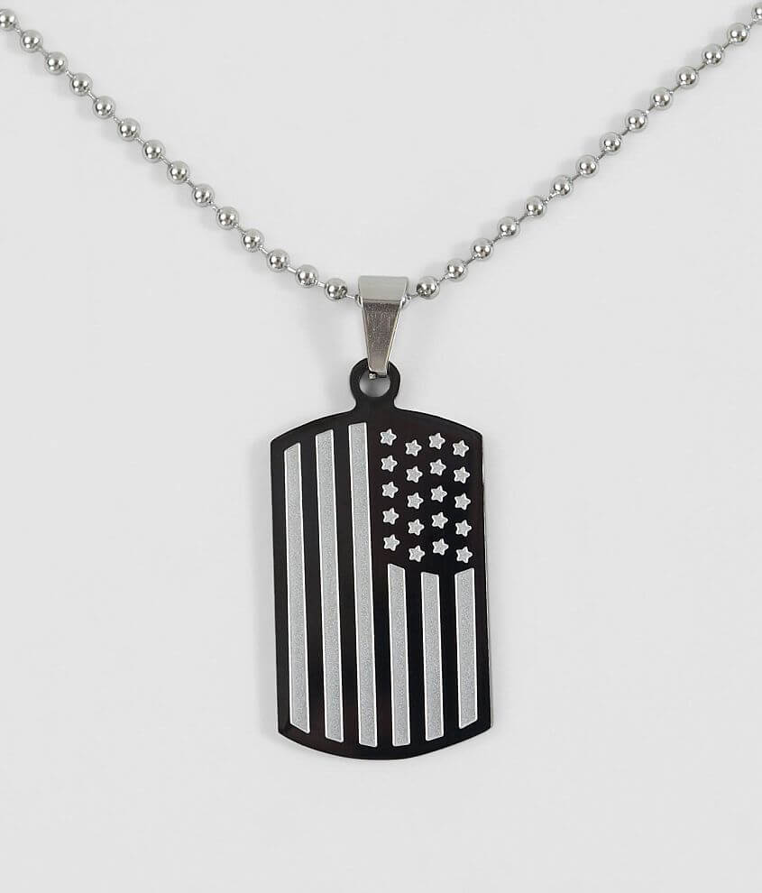 1913 American Flag Necklace
