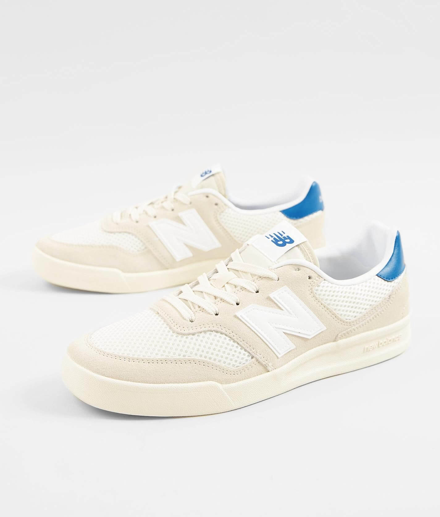New Balance CRT300 V2 Leather Shoe - Men's Shoes in Off White ...