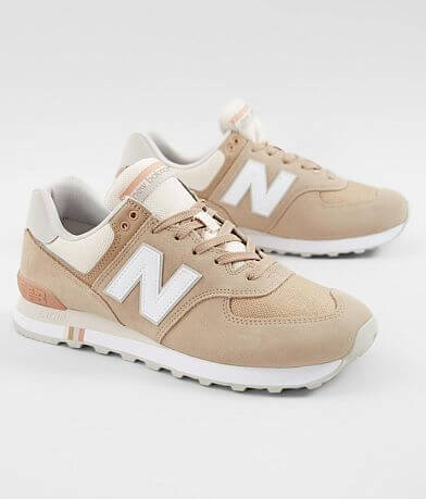 New Balance 574 Summer Shore Suede Shoe