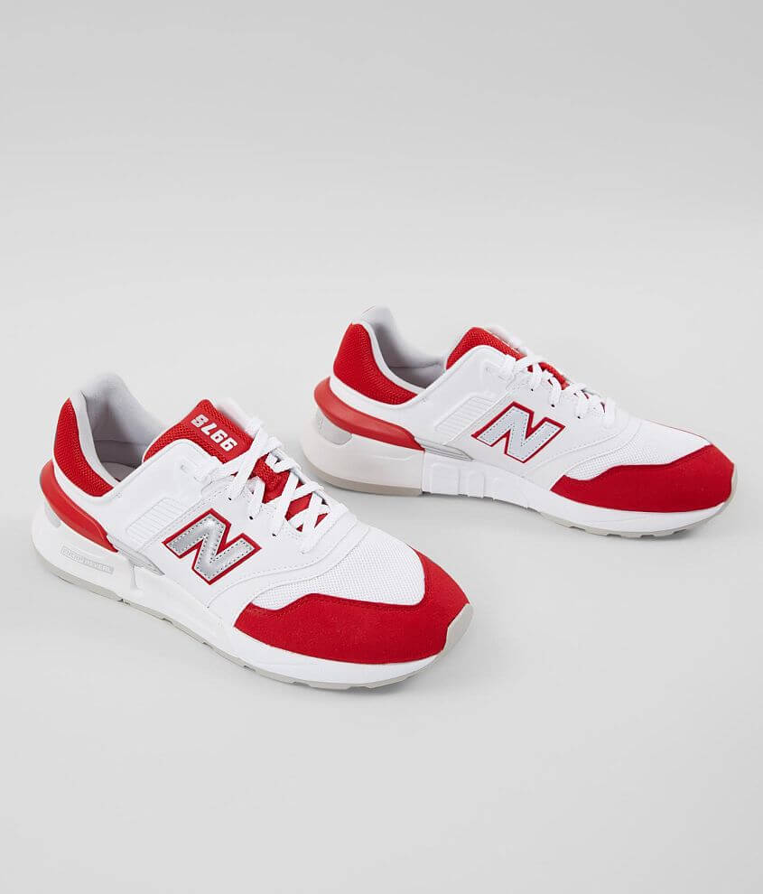 Todo el mundo Tóxico operación  New Balance 997 Sport Suede Shoe - Men's Shoes in Team Red Munsell White |  Buckle