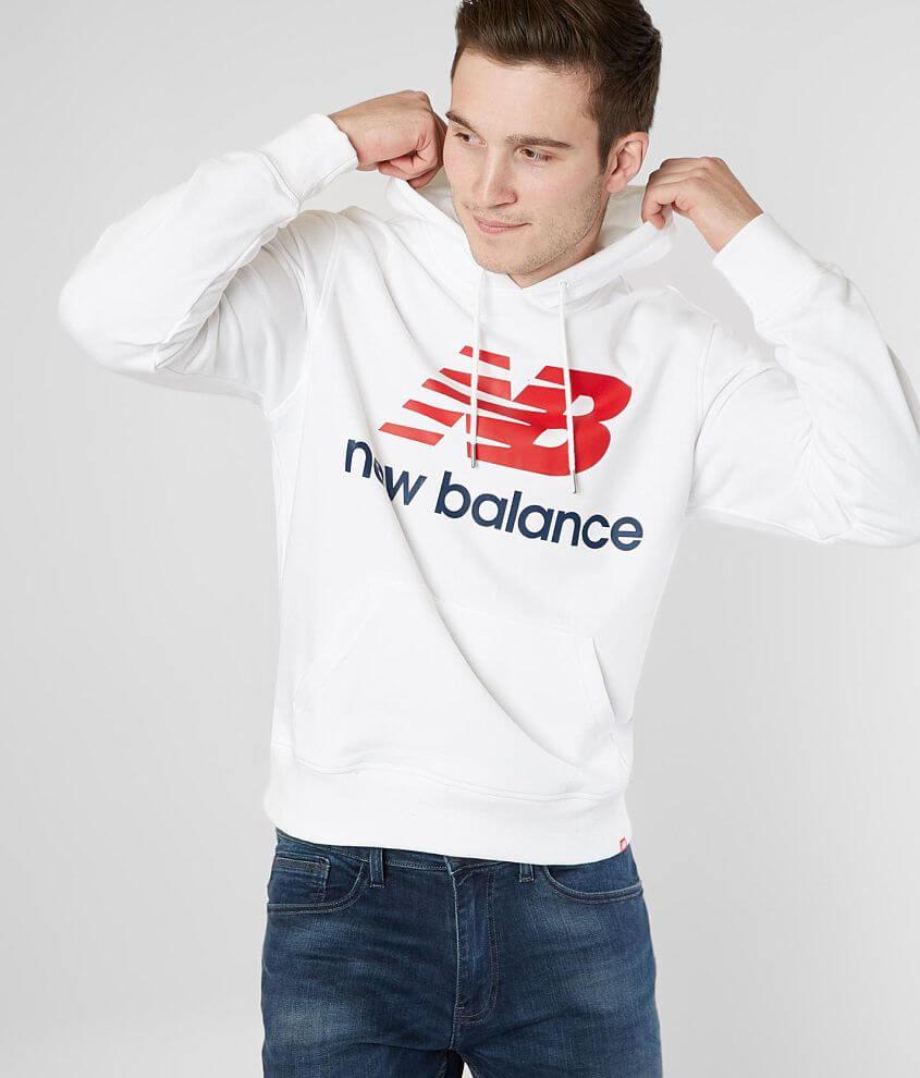 New Balance Essentials Stacked Sweatshirt - Men's Sweatshirts in ...