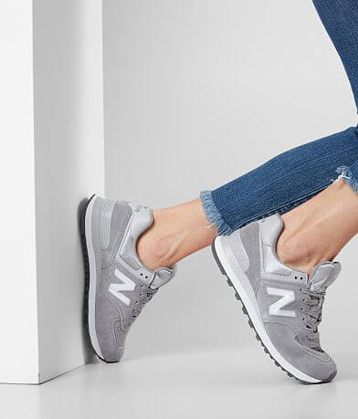 New Balance 574 Holiday Sparkler Leather Shoe
