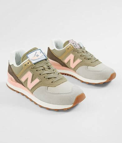 New Balance 574 Metallic Patch Shoe