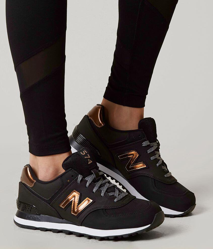 new balance zwart brons