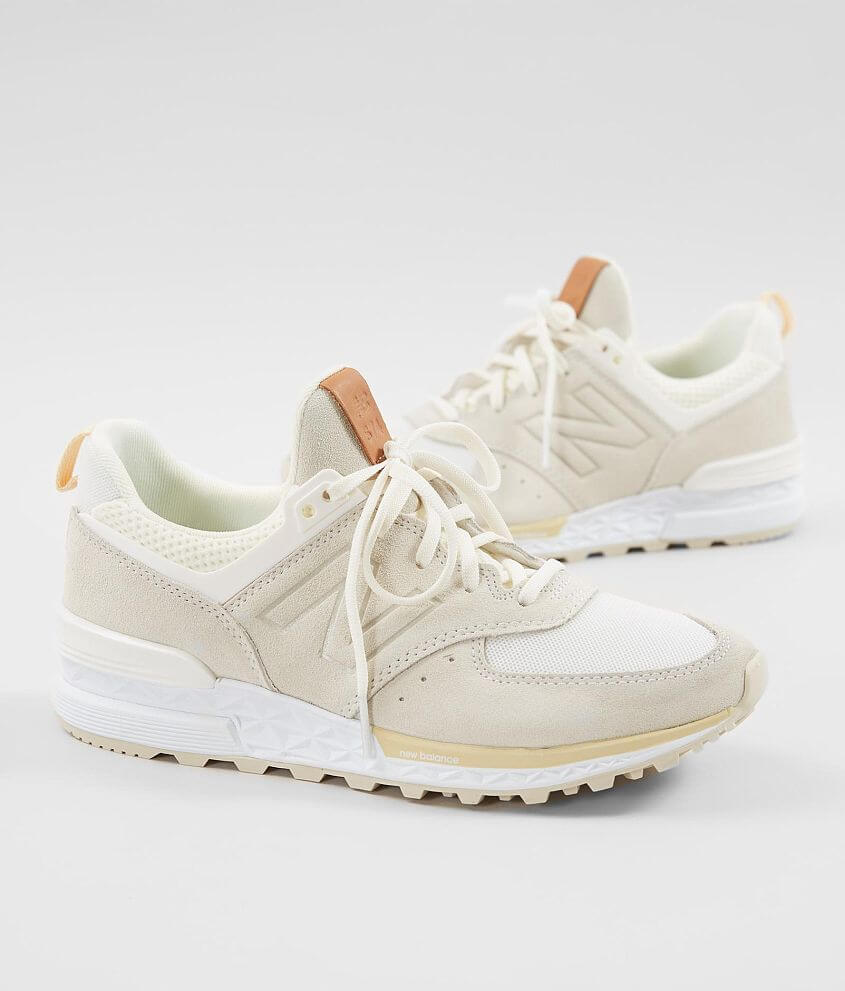 68cb05f92bb7fb New Balance 574 Sport Shoe - Women's Shoes in Sea Salt Vanilla | Buckle