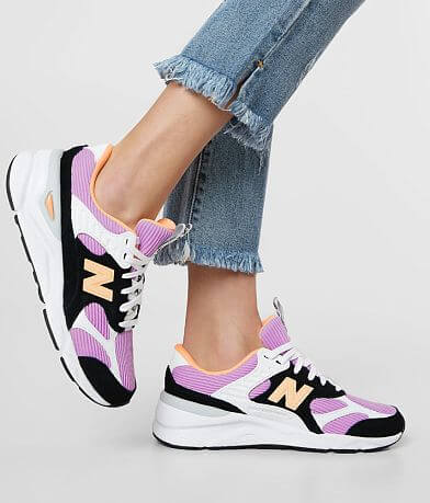 New Balance X90 Reconstructed Suede Shoe