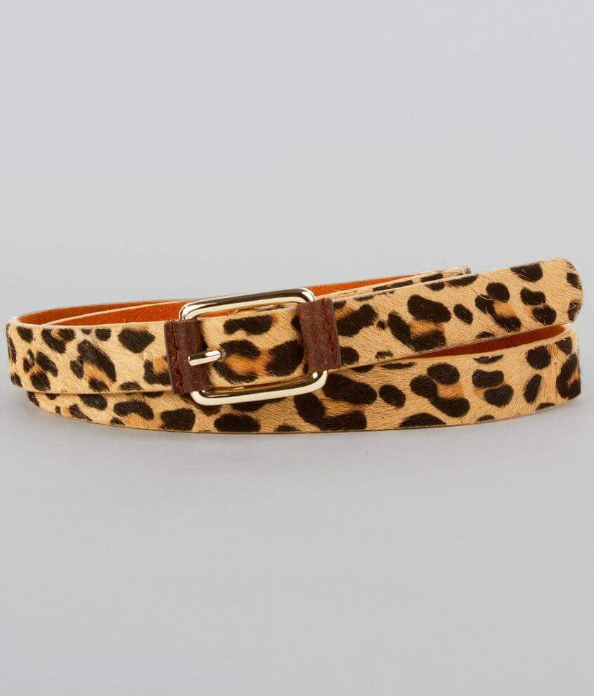 9e4f06b1ba Daytrip Animal Print Belt - Women's Accessories in Leopard   Buckle
