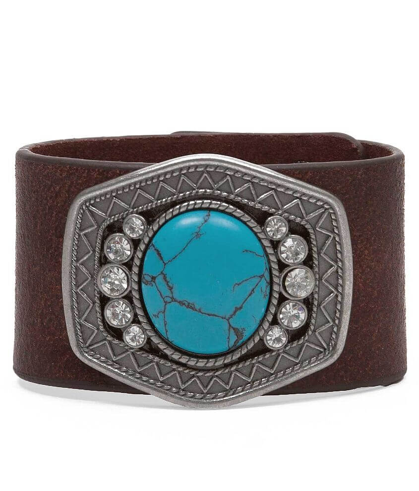 BKE Marbled Stone Bracelet front view