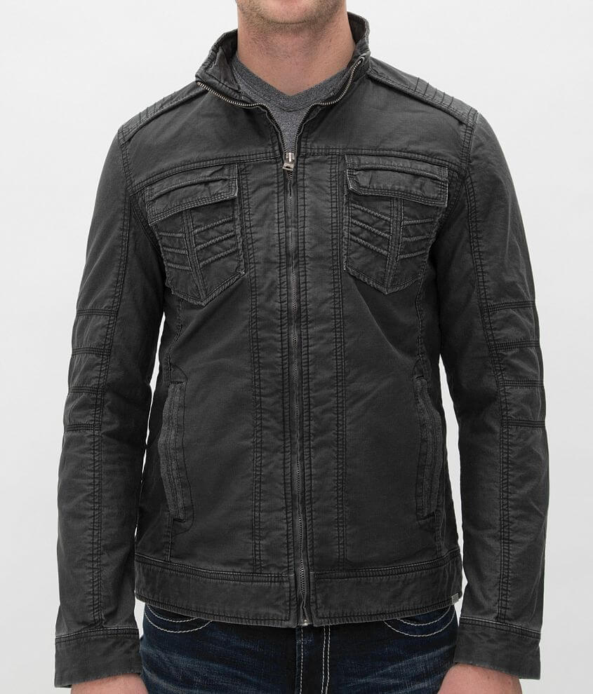 Buckle Black Roscoe Jacket front view