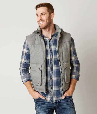Buckle Black James Vest
