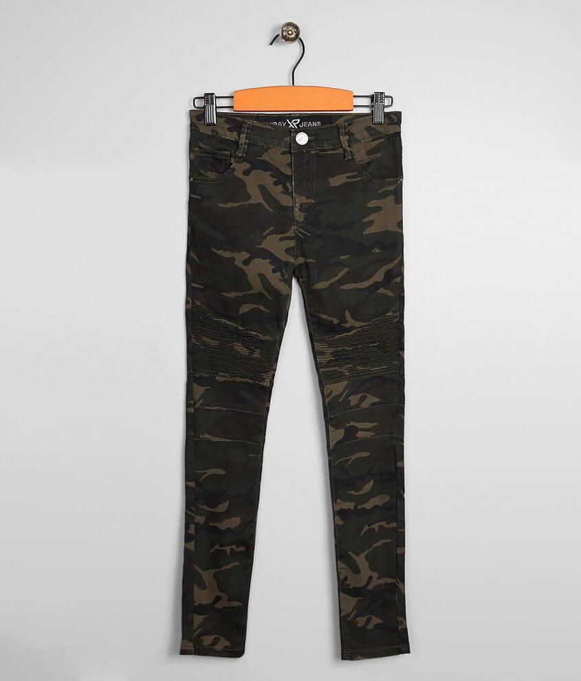298ec58e5f Boys - X-Ray Jeans Granby Camo Moto Skinny Jean - Boy's Jeans in ...