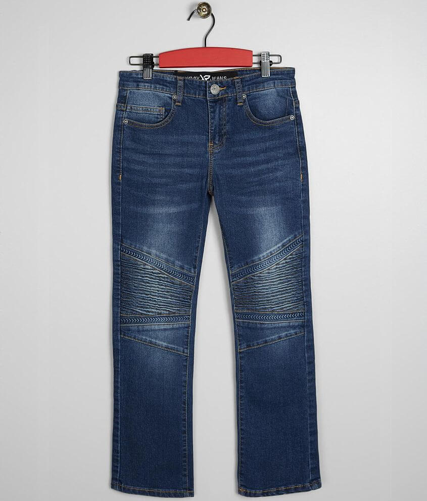 Boys - X-Ray Jeans Zeke Arrows Moto Stretch Jean front view
