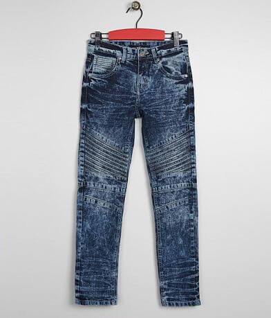 6ff121aed949 Boys - X-Ray Polaris Padded Moto Stretch Jean