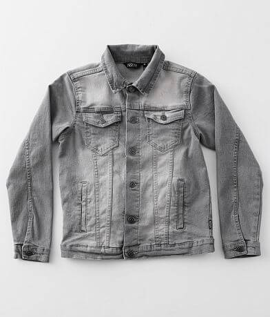 Boys - Nova Industries Washed Denim Stretch Jacket