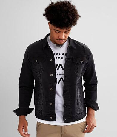 Nova Industries Denim Stretch Jacket