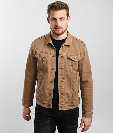 Nova Industries Washed Denim Stretch Jacket