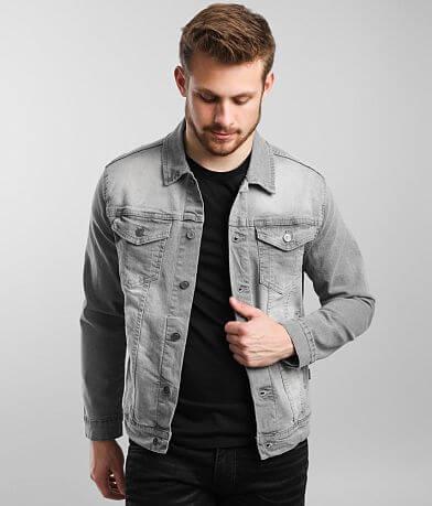 Nova Industries Washed Denim Stretch Jacket