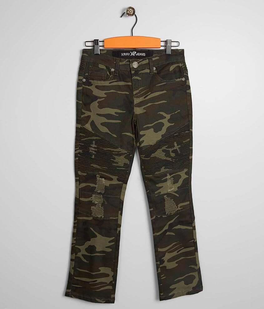 4721c22efd Boys - X-Ray Jeans Roswell Camo Stretch Jean - Boy's Jeans in Olive ...
