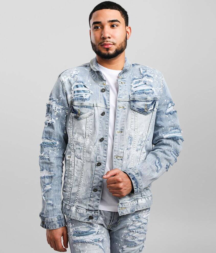 Smoke Rise® Montauk Denim Stretch Jacket front view