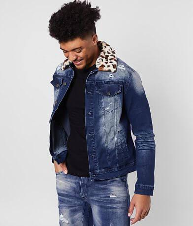 Smoke Rise® Asphalt Denim Stretch Jacket